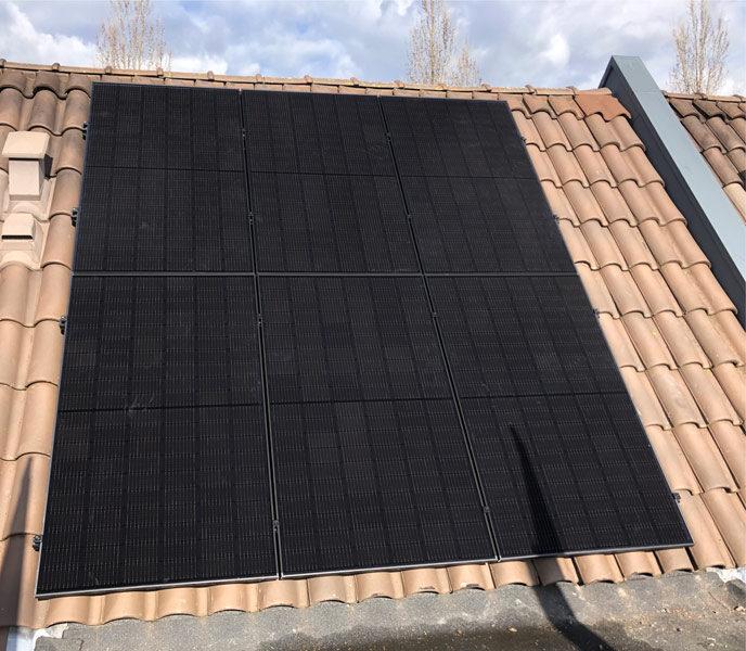 Zonnepanelen van LG