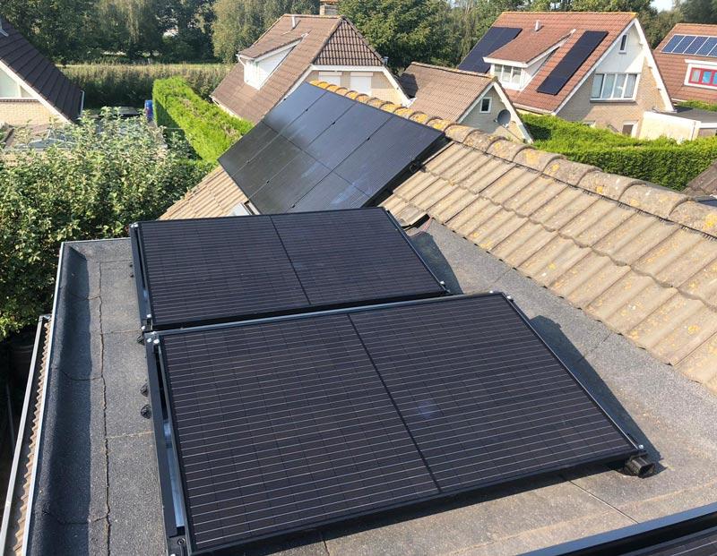 Kosten en opbrengst zonnepanelen